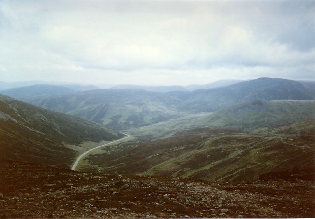 Looking North from The Cairnwell