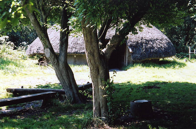 Westhay: Roundhouse at Peat Moors Centre