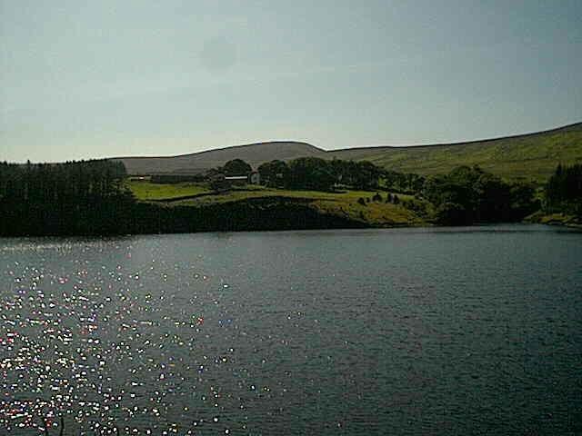 Druidale Farm across Sulby Reservoir