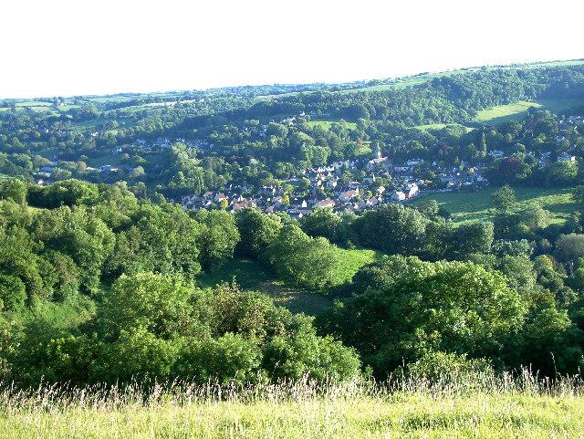 Woodchester village