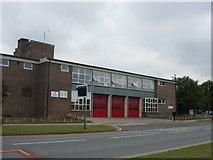 SJ4388 : Belle Vale Fire Station by Sue Adair