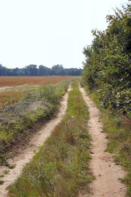 Bridleway to Charity Farm and Tuddenham