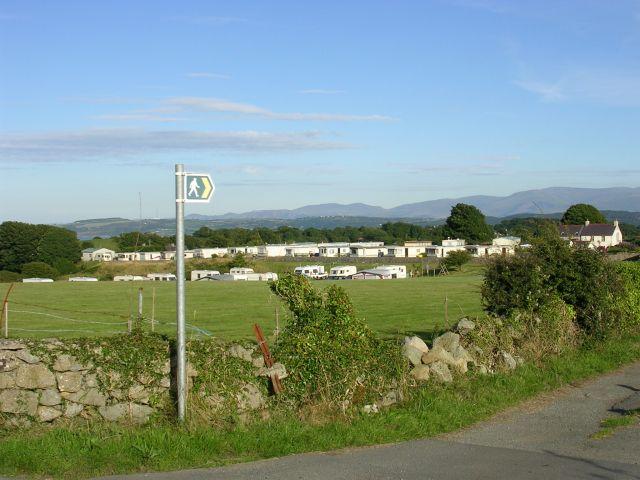 Public footpath near Brynteg, Anglesey
