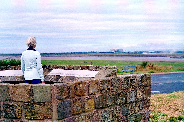 The Viewpoint on Tithe Barn Hill, Glasson