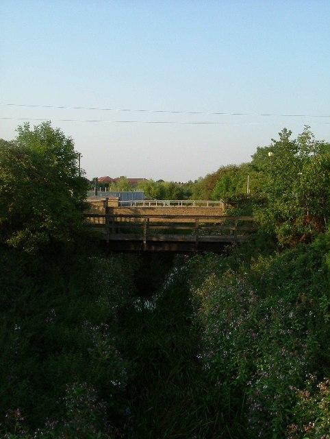 Footbridges On The Beam River
