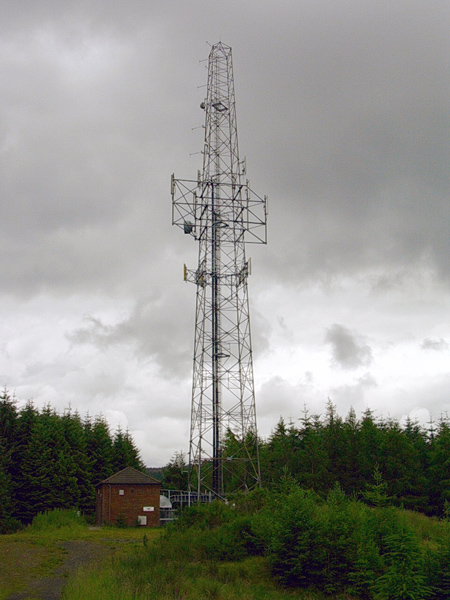 Black Law Police Tower