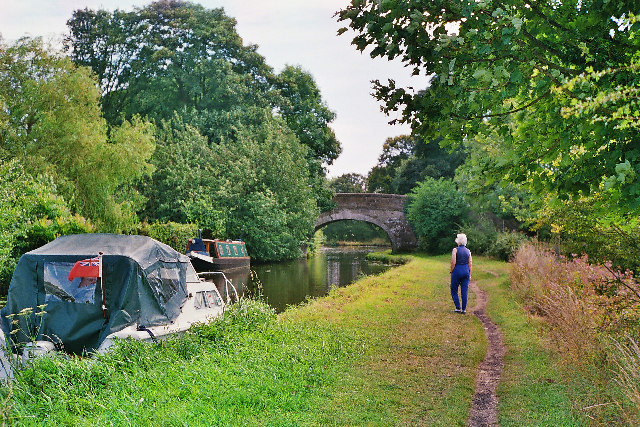 Ellel Bridge on Lancaster Canal