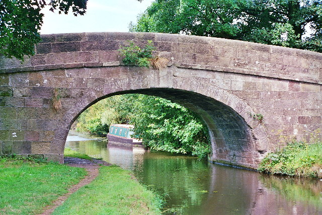 Ellel Hall Bridge on Lancaster Canal from the S