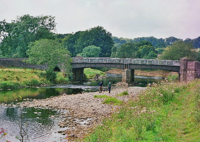 Bridge over the Ribble near Grindleton