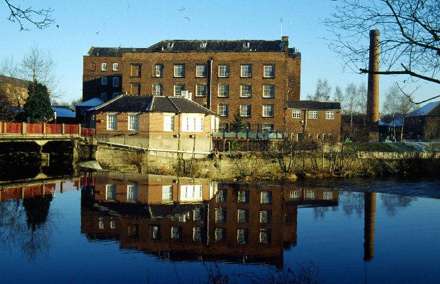 River Derwent, Darley Abbey
