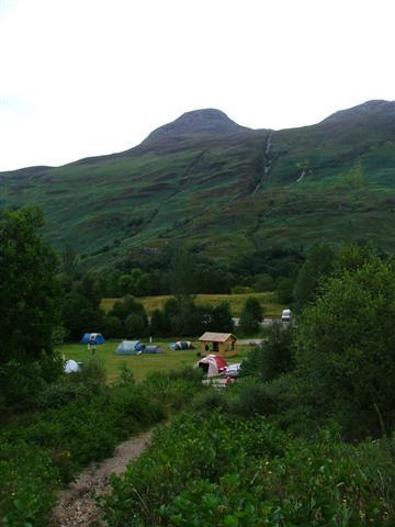 Glencoe Camping Club Campsite