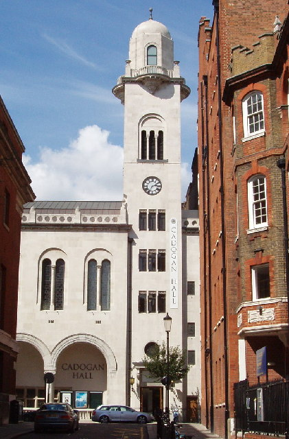 Cadogan Hall, near Sloane Square