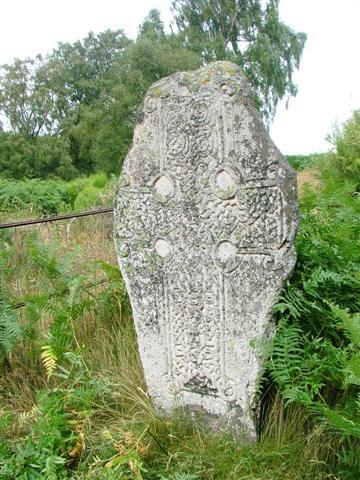 Celtic Cross Overlooking Loch Kinord