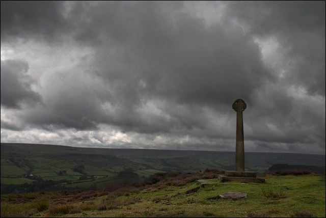 Millennium Cross near Rosedale Abbey