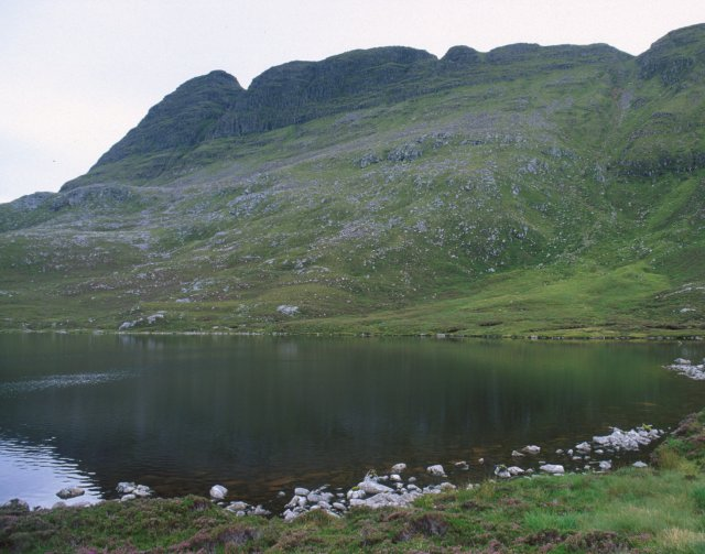Loch a' Choire Dubh and Suilven