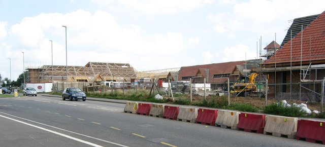 New retail complex, Thurmaston