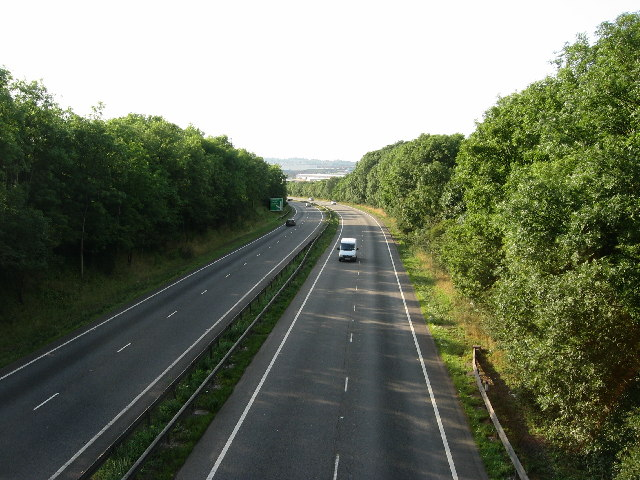 Great North Road, Grantham
