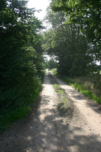 Bridleway from Cavenham to Hill Farm