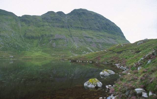 Caisteal Liath (Suilven) from Loch a' Choire Dubh