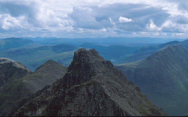 Corrag Bhuidhe from Sgurr Fiona
