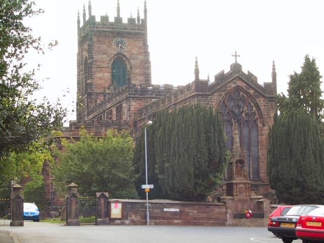 St.Michael and All Saints Church, Penkridge