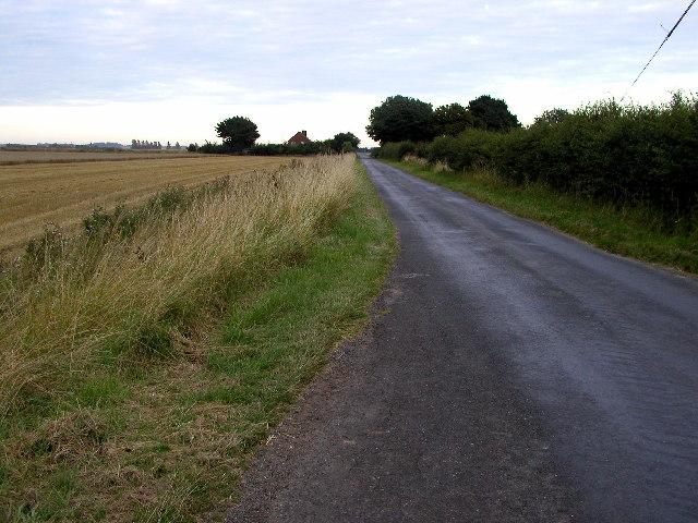 Long, flat road