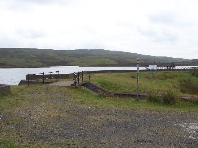 Inverkip Daff reservoir