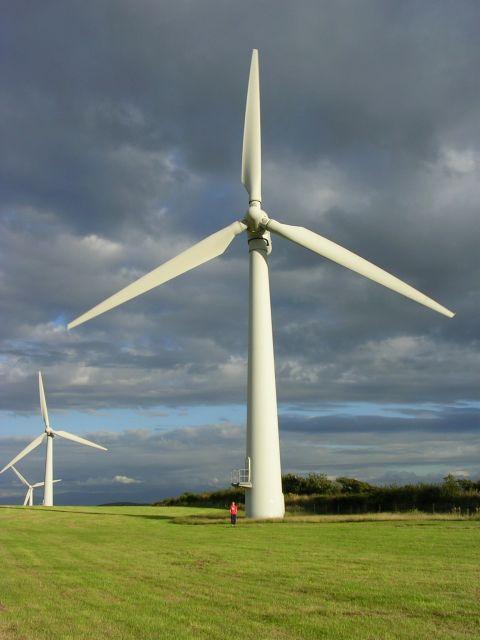 Turbines at Trysglwyn