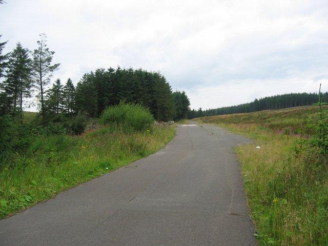 Disused road, Muirkirk