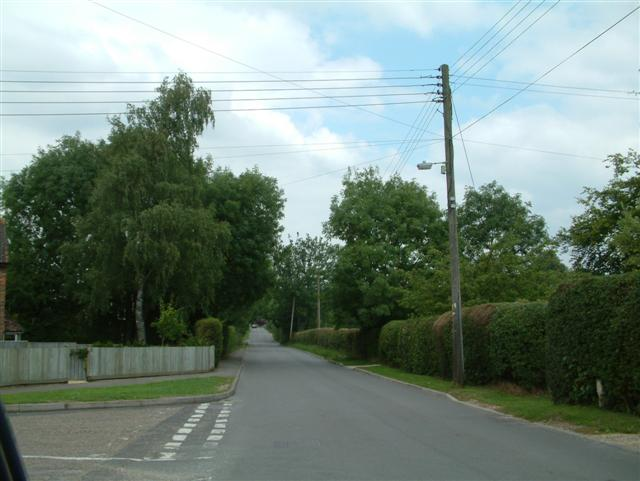The Road to  Wards Farm