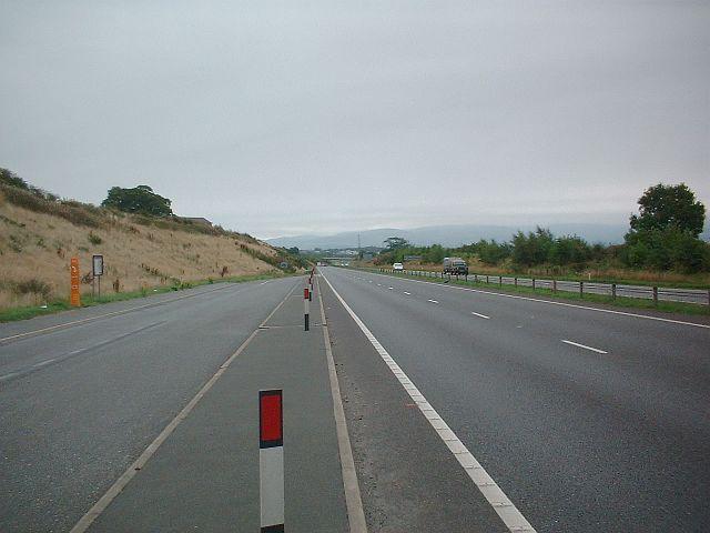 A55 Eastbound