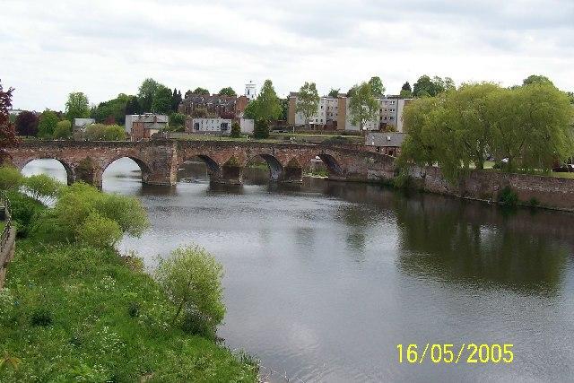 Old bridge at Dumfries