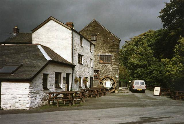 Penegoes Water Mill, near Machynlleth