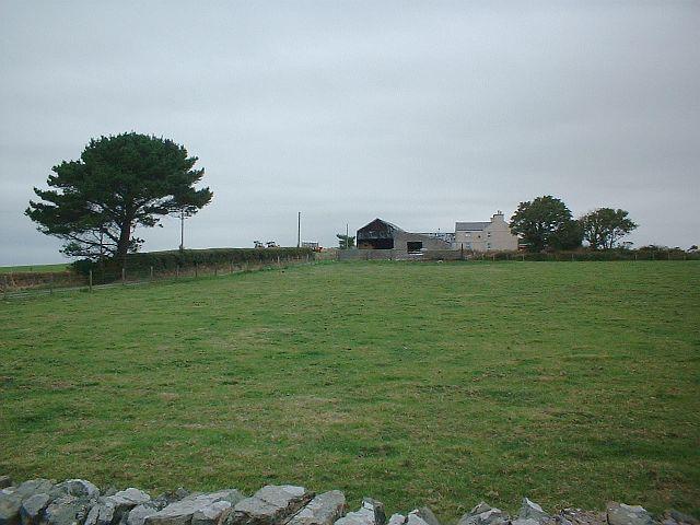 Farm buildings at Bryngoleu