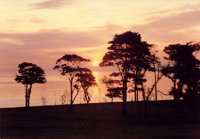 Sunrise Silverknowes
