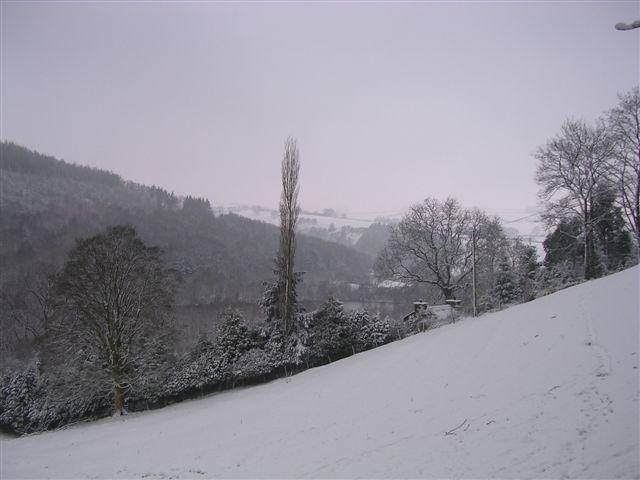 Winterscape Moelfre
