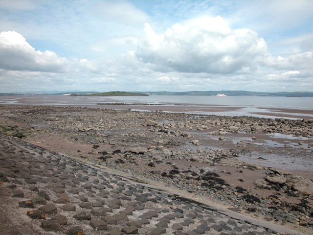 Foreshore looking to Cramond Island