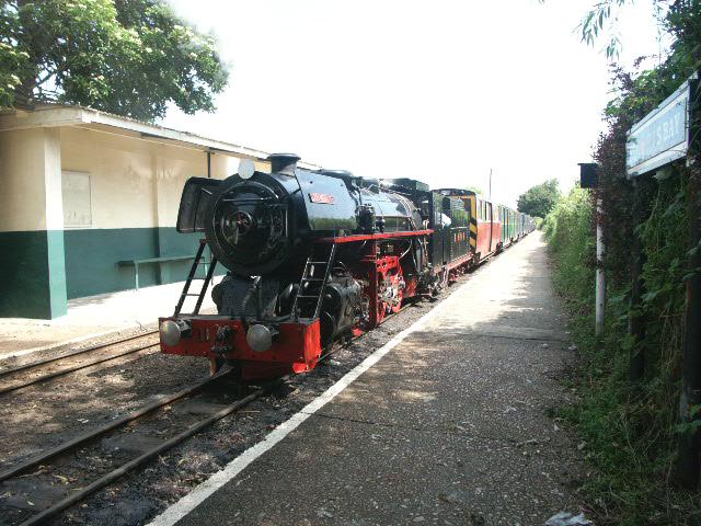 Miniature Railway Steam Locomotive
