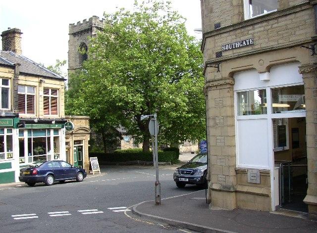 Elland town centre