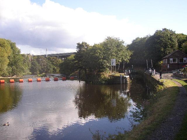 Canal Lock, Kirklees Cut, Rastrick