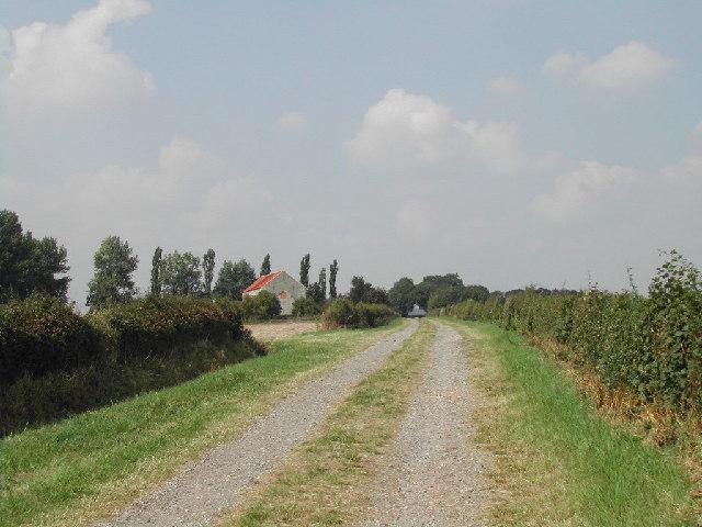 Bridleway near Halloughton Dumble