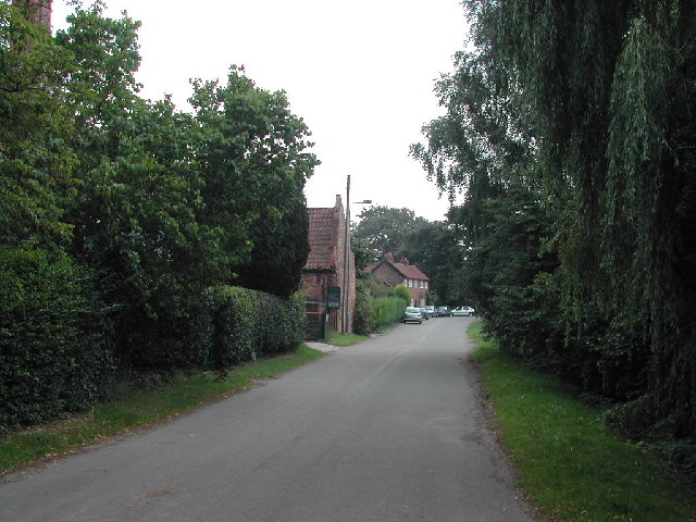 Road through Gonalston Village