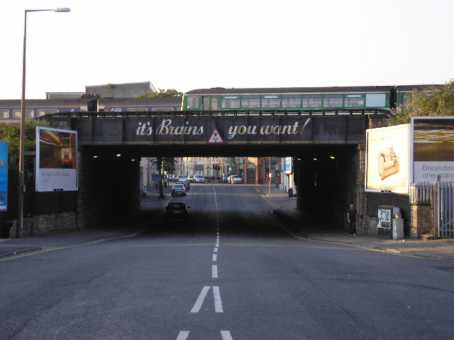 Railway bridge, Clare Road, Cardiff