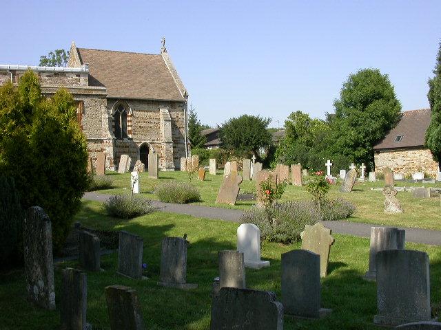 Churchyard, St Mary's, Wilby