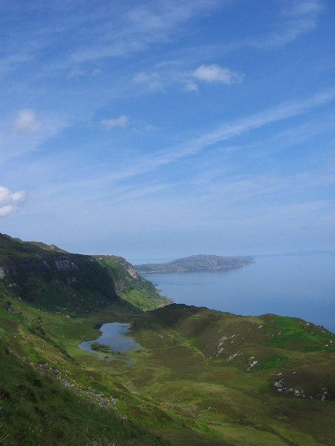 Loch a' Chada-charnaich, Raasay