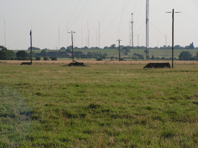 Masts anchor bases.