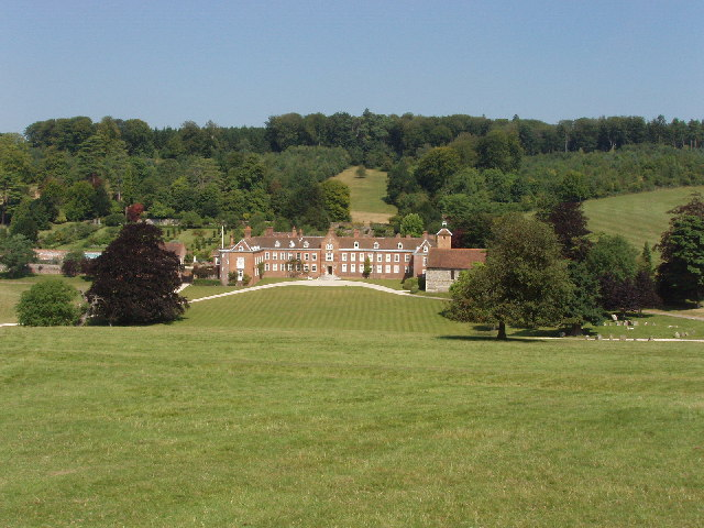 Stonor House from the Deer Park