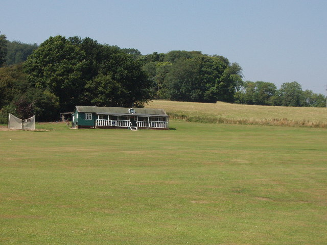 Cricket field at Stonor