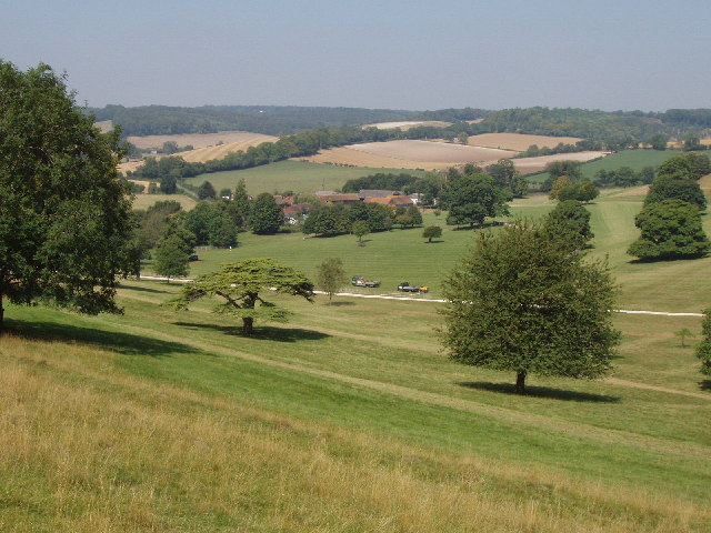 Stonor Park and Balham's farm
