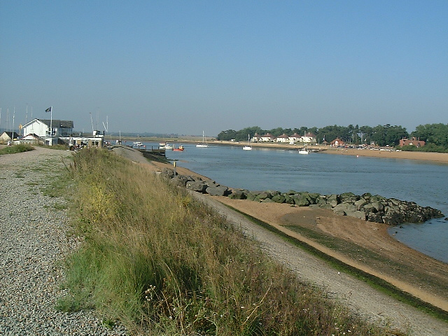 Felixstowe Ferry Sailing Club and Deben River